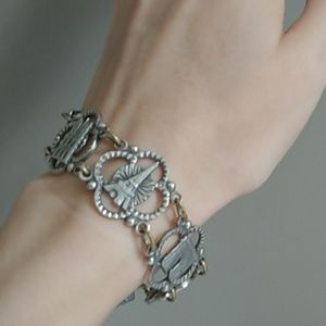 Jewelry - Silver and brass Paris landmark bracelet